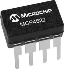 MCP4822 Dual Channel 12-Bit Digital To Analog Converter DAC